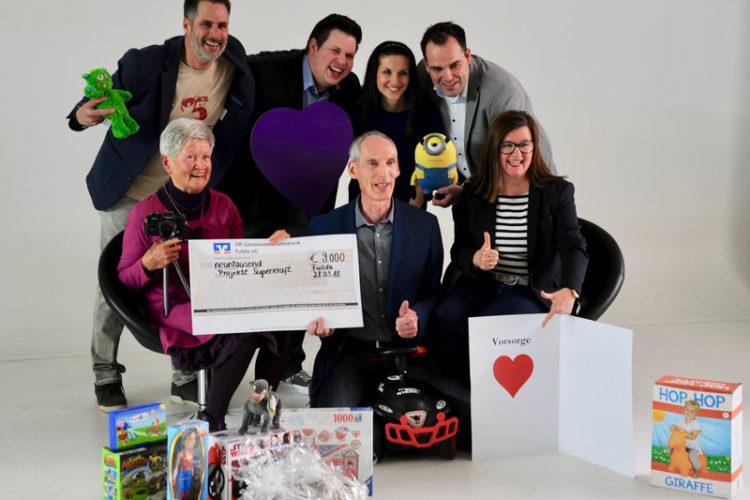 Superkraft Charity-Nacht Fulda: Deutsche PalliativStiftung erhält 3000 Euro